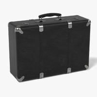 vintage suitcase 3d 3ds