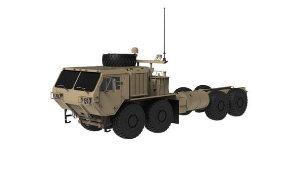 3d heavy truck model