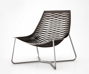 york lounge chair 3d model