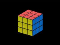 3d model rubik s cube