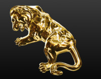 lion ring obj