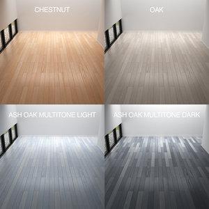 3d linear parquet 4 wood