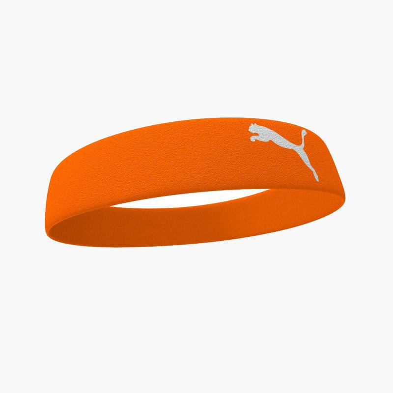 sports headband 2 3d max
