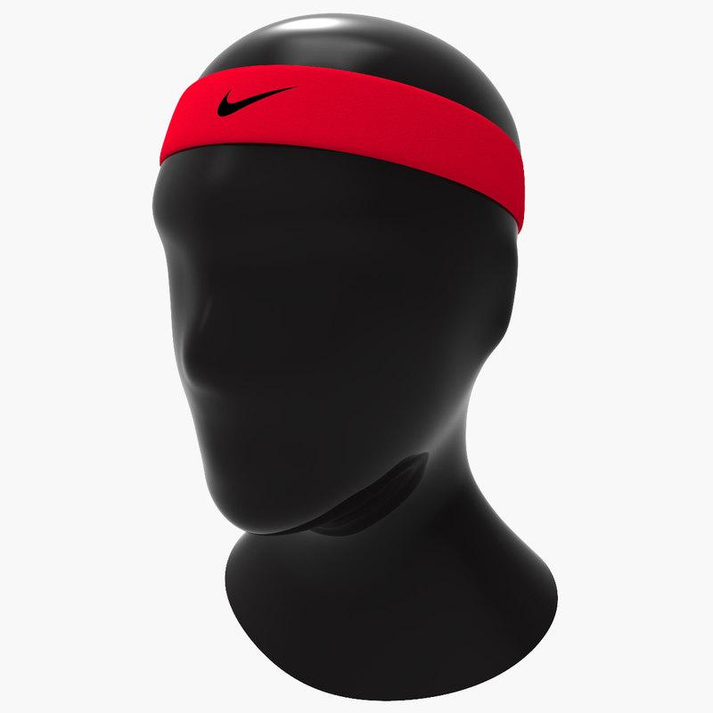 3d model sports headband