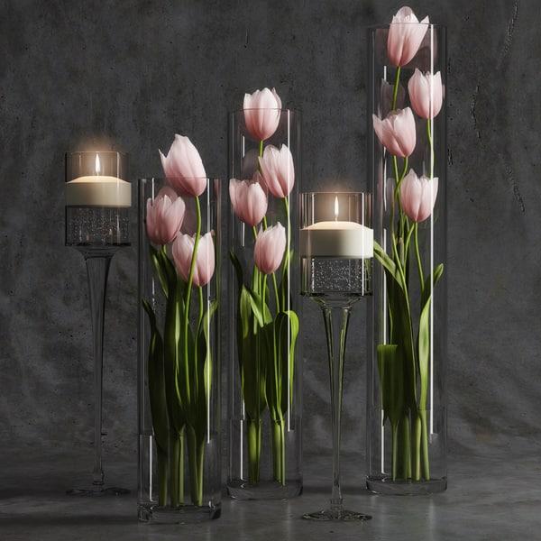 max tulip arrangement