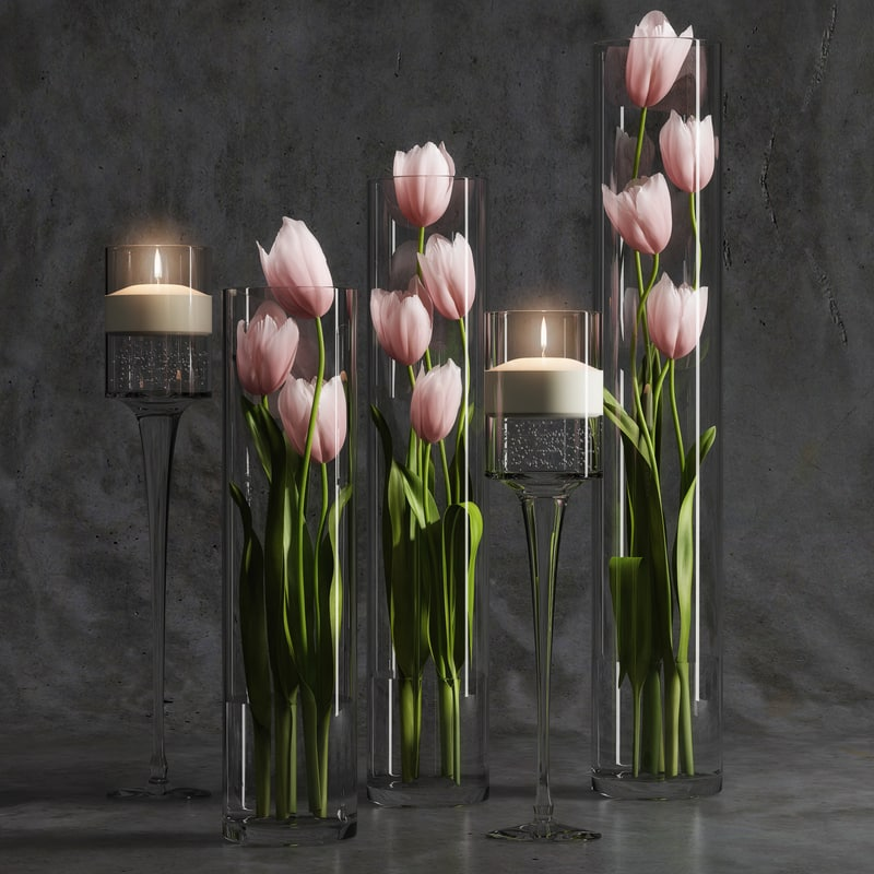 max tulip arrangement