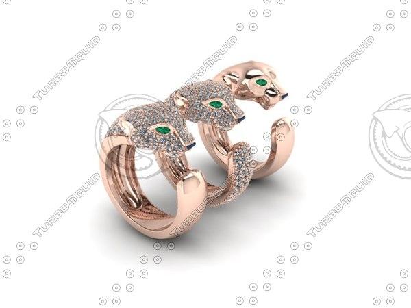 3dm tiger rings