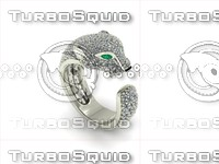 puma ring 3d model