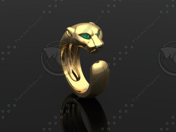 3d puma ring