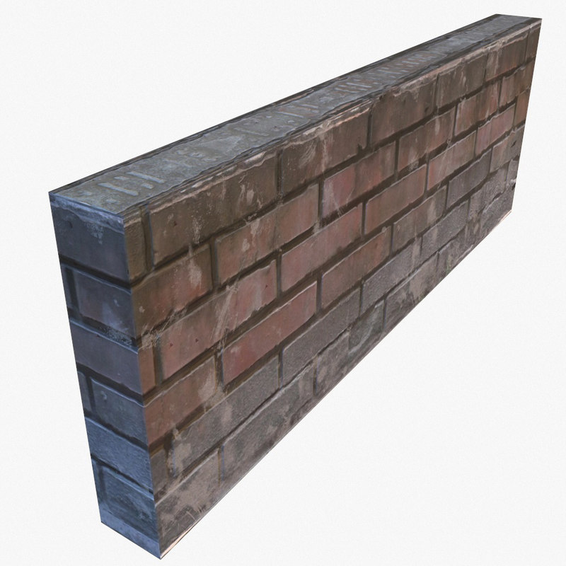 wall pbr ready 3d 3ds