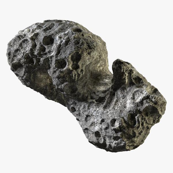 3d model asteroid 12