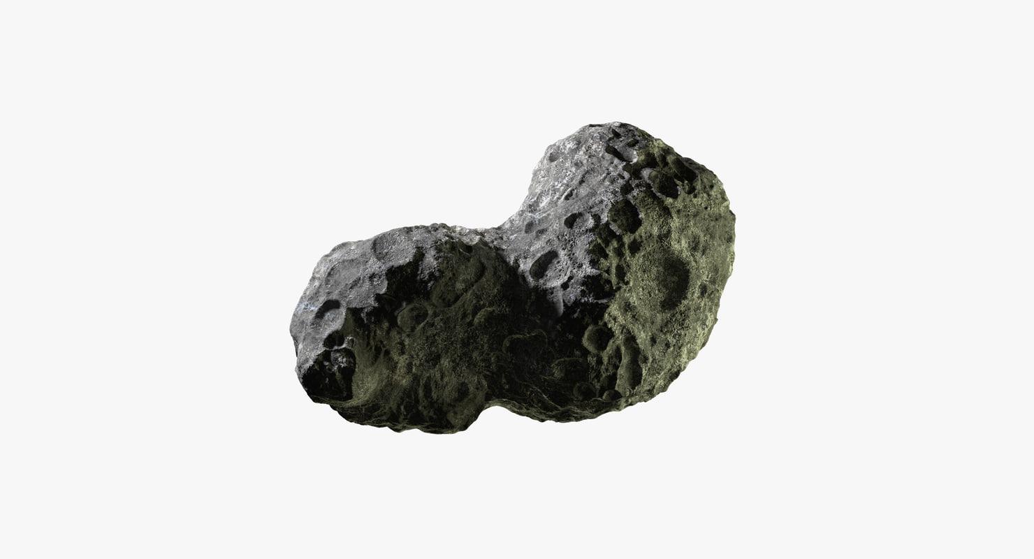 asteroid 13 3d model