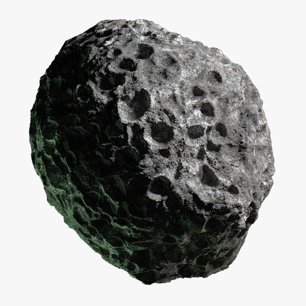 3d asteroid 16