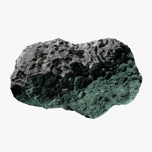 3d asteroid 18 model