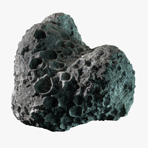 asteroid 19 3d max