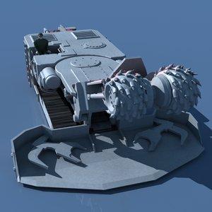 3d continuous miner coal