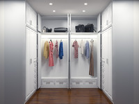 Walk In Closet (Wardrobe) - Lemari