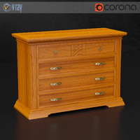 dall agnese chest drawers 3d max