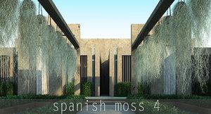 obj spanish moss