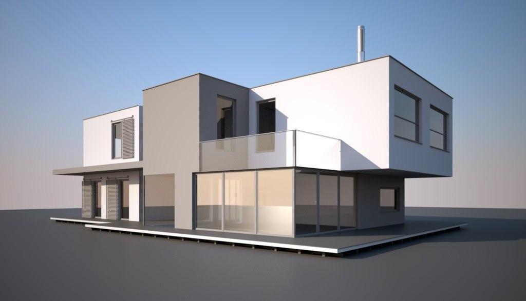 3d model house4