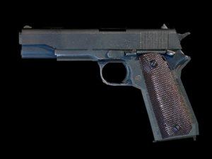 m1911 colt 3d model