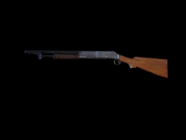 3d winchester 1912 model