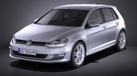 volkswagen golf 5-door max
