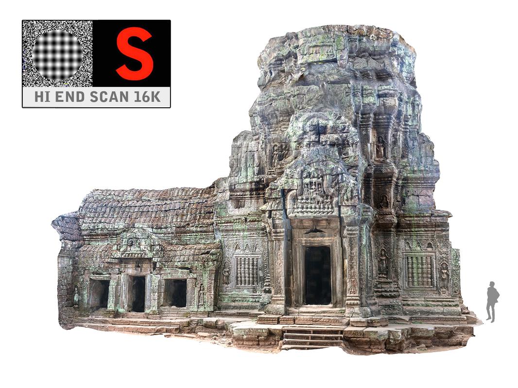 3d model ancient tree temple 16