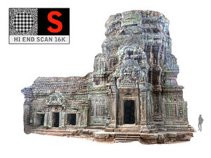 3d model ancient tree temple 16