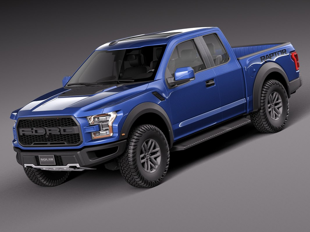 3d 2017 f 150 raptor. Black Bedroom Furniture Sets. Home Design Ideas