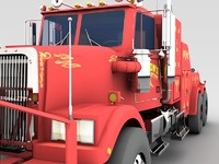road king truck c4d