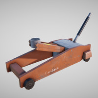 Car jack low poly