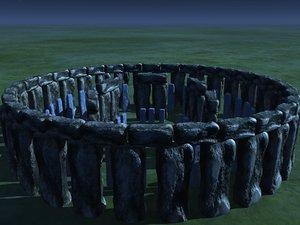 3d stonehenge