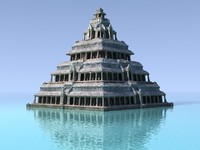 palace water 3d model