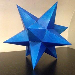 3d star decorative