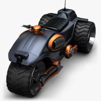 motor concept 3d 3ds