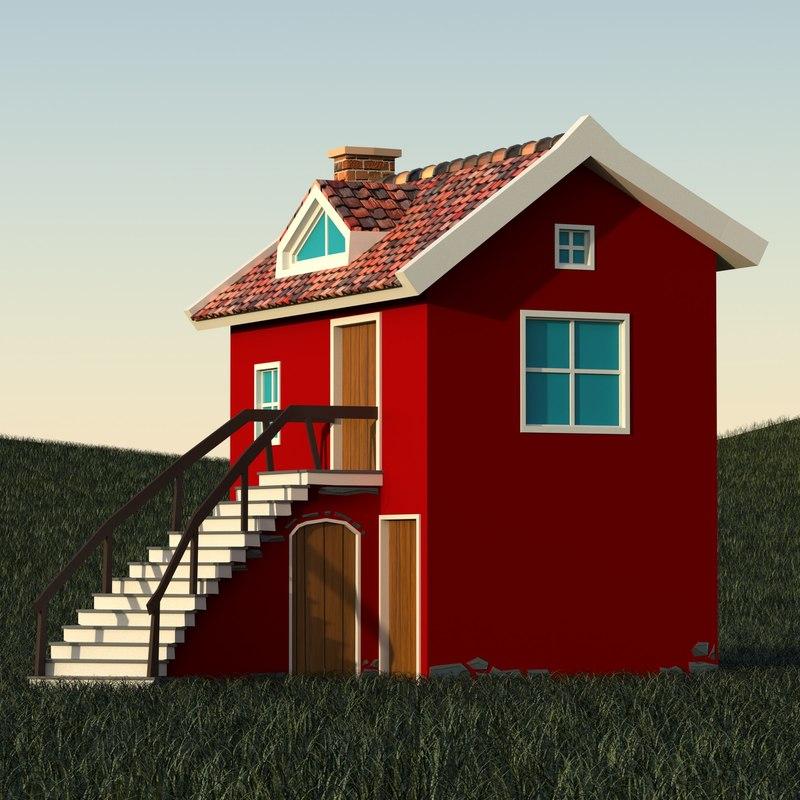 max vintage fantasy house