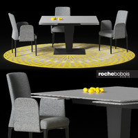 obj rochebobois dining osiris table