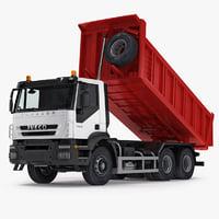 max iveco trakker dump truck