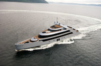 megayacht shining 3d 3ds