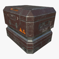 3d armored crate - ready