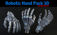 robotic hand pack 10 max
