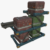 cargo - ready pbr 3d model
