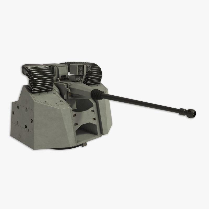 3d model marlin rapid gun