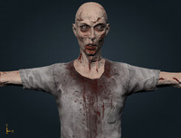 Zombie Man GameReady (UE4 READY)