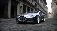 3d model concept s car
