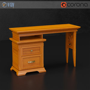 dall agnese table 3d model