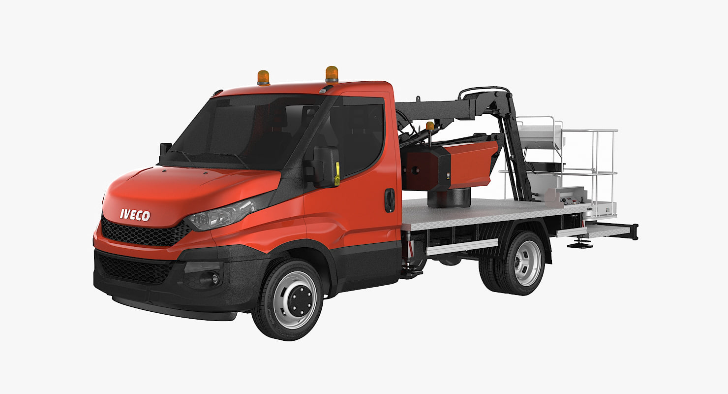 max iveco cherry picker