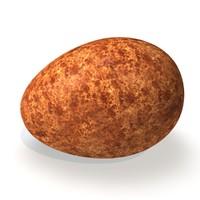 realistic peregrine falcon egg dxf