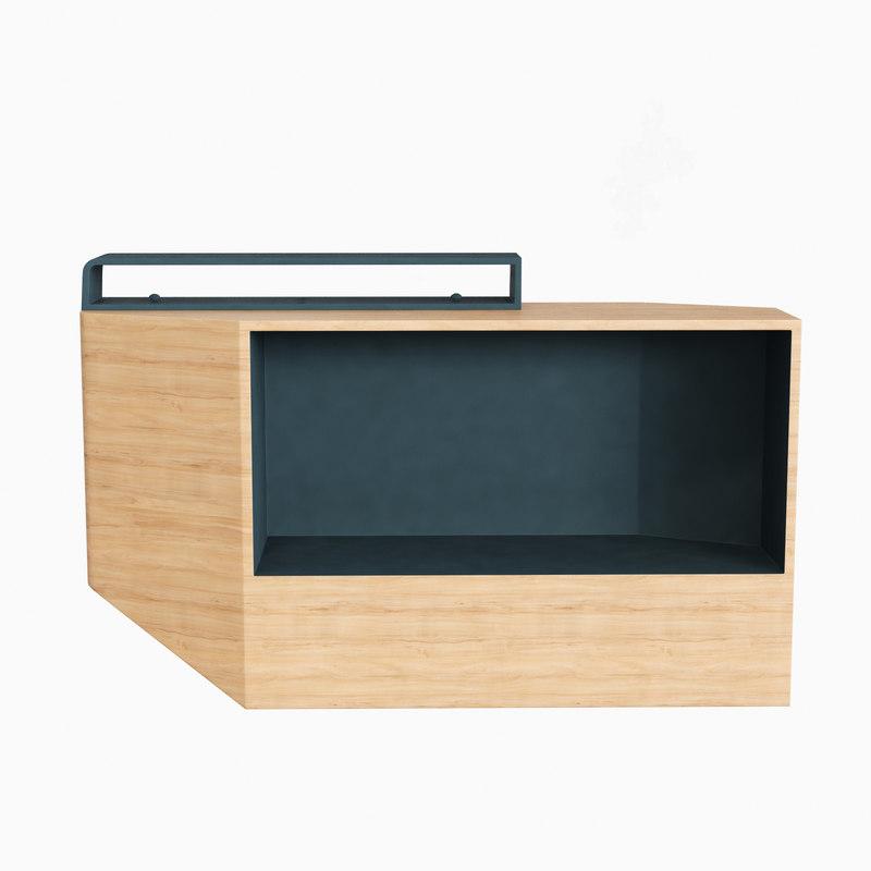 tandem table numero 111 3d max